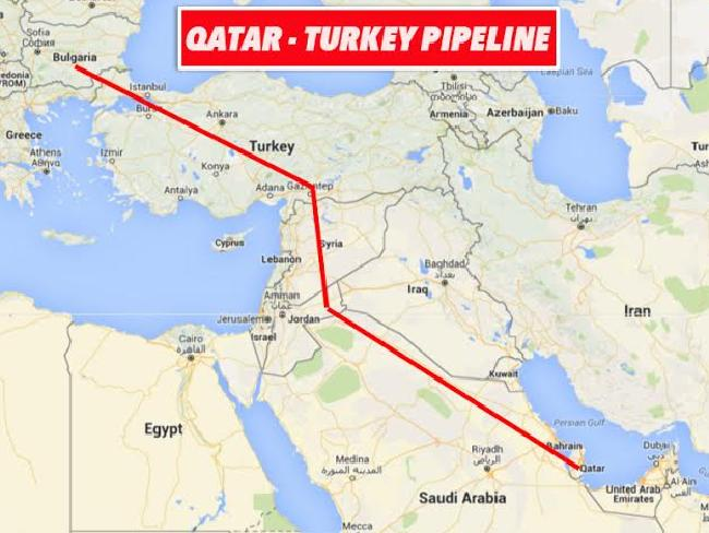 qatar-pipeline-map