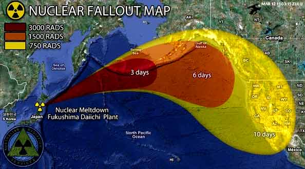 Fukushima A Nuclear War Without A War The Unspoken Crisis Of - Japan radiation map 2016